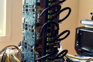 Один из сотрудников Twitter создал дома суперкомпьютер