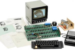 Антикварный Apple-1 ушел с молотка за рекордную сумму
