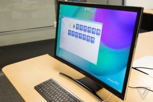 Samsung объявила о создании изогнутого моноблока