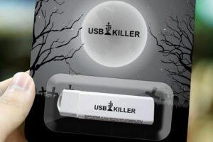 Новое устройство «заботится» о безопасности вашего компьютера, уничтожая его USB-порт
